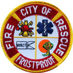 Frostproof Fire Department Logo