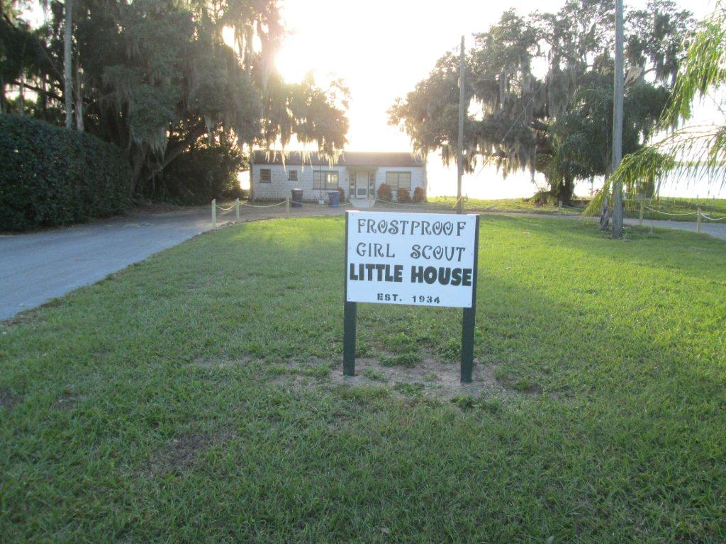 Girl scout little house city of frostproof - The scouts tiny house ...